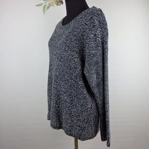 247431a858 Philosophy Sweaters - Philosophy Pullover Knit Sweater Blackbird   Ivory